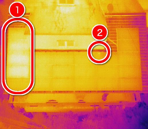 太陽光パネル赤外線カメラ